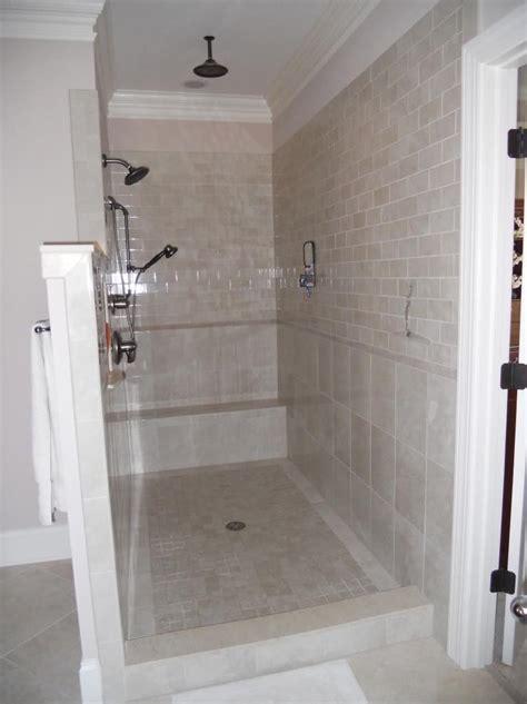 walk  showers  doors
