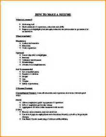 How To Create A Resume Template 6 How To A Resume For Application Bibliography Format