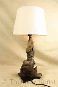 Treibholz Lampen Shop : treibholz nachttischlampe tischlampe unikat ~ Frokenaadalensverden.com Haus und Dekorationen