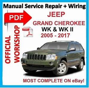 Officia Workshop Manual Service Repair For Jeep Grand Cherokee Wk Wk2 2005