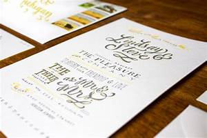best of 2012 lindsay39s hand lettered wedding invitations With hand lettered wedding invitations