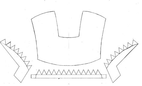 iron helmet template the gallery for gt iron helmet template cardboard