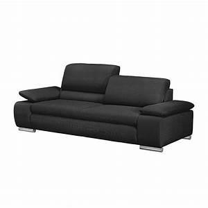 Polstergarnituren 3 2 1 Sitzer : sofa masca 3 sitzer strukturstoff anthrazit loftscape kaufen ~ Indierocktalk.com Haus und Dekorationen