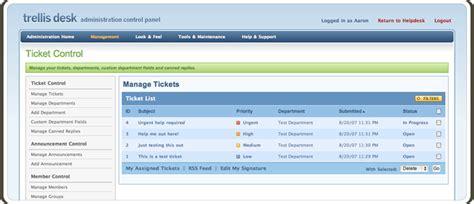 open source help desk ticket system accord5 trellis desk