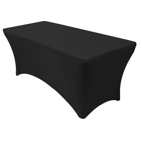 spandex table covers cheap 6 ft rectangular spandex table covers black wholesale