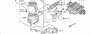 Nissan 350z Engine Air Intake Hose  Cleaner