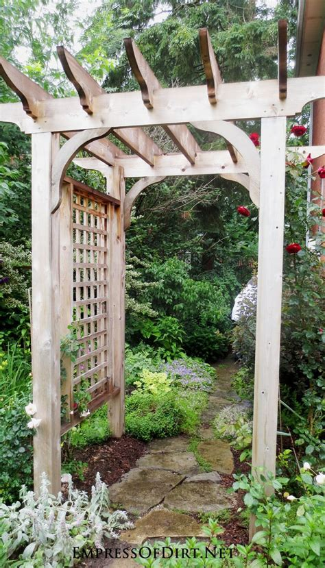Small Wooden Trellis by 25 Best Ideas About Wooden Arbor On Wooden