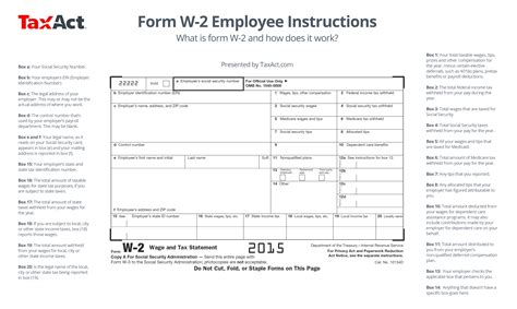 how to get 2015 w2 form what is w 2 form and how does it work taxact blog