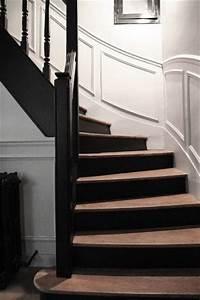 12 deco escalier qui donnent des idees deco cool With peindre des marches d escalier en bois
