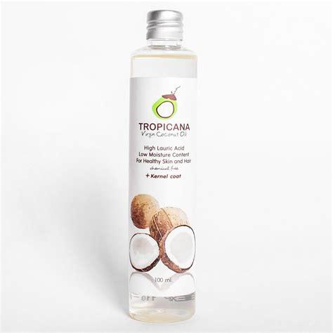 tropicana natural organic virgin coconut oil thailand cold