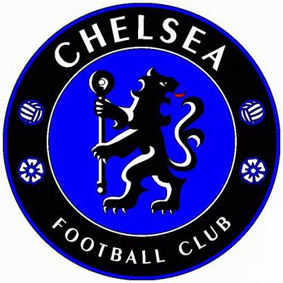 Chelsea Fc Football Colouring Club Clipart Pages