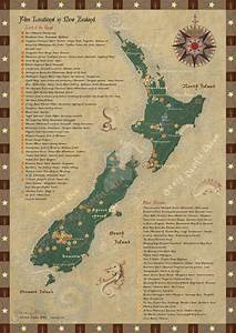 Film Fernseh Location : new zealand film locations map updated by starsong studio on deviantart ~ Frokenaadalensverden.com Haus und Dekorationen