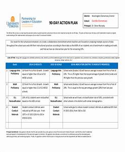 17 action plan templates free premium templates With the first 90 days plan template