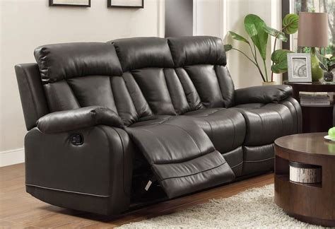 black leather reclining sofa cheap recliner sofas for sale black leather reclining