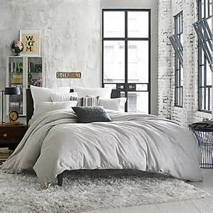 buy kenneth cole reaction home elements reversible duvet cover in grey mist from bed