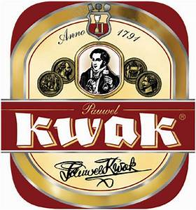 Photo Of Bosteels Pauwel Kwak Beer Label