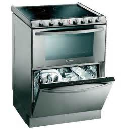 Electric Stove Oven Dishwasher Combo