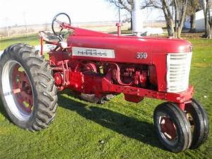 1957 Farmall 350 Row Crop Tractor For Sale