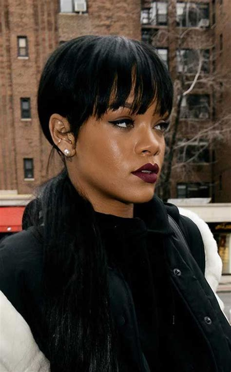 Rihanna Pixie Cut Hairstyles by 15 Best Rihanna Pixie Cuts Hairstyles Rihanna Pixie