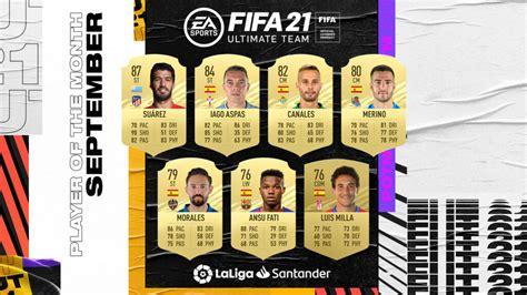 FIFA 21: POTM September Nominees of La Liga announced ...