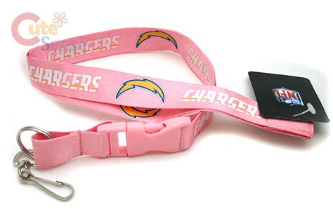 San Diego Chargers Lanyard Key Chain Id Game Ticket Holder