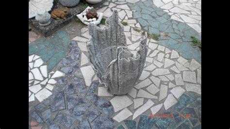 Le Aus Beton Selber Machen by Blumenk 252 Bel Blumentopf Aus Beton Getr 228 Nkten T 252 Chern