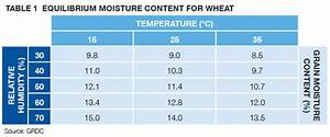 Dealing With High Moisture Grain Stored Grain