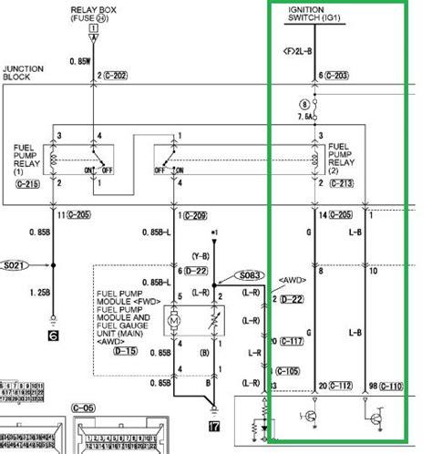 Mitsubishi Inverter Wiring Diagram by 2004 Mitsubishi Outlander Schematics Wiring Diagram