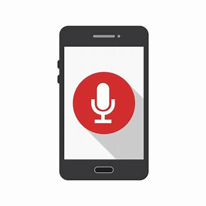 Icon Mobile Vector Application Bluetooth App Silent