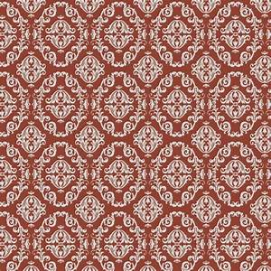 Silver Red Barley Pattern Self Adhesive Wallpapers ...