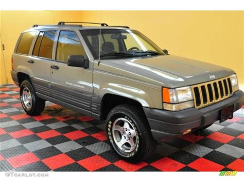 charcoal jeep grand cherokee black 1996 charcoal gold satin jeep grand cherokee laredo 4x4