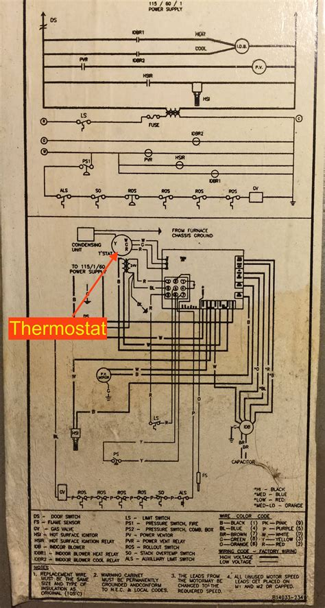 Heil Blower Motor Wiring Diagram by Adding Venstar Add A Wire To Hvac Home Improvement Stack