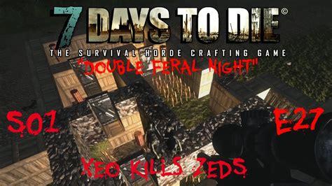 days die zombies feral alpha
