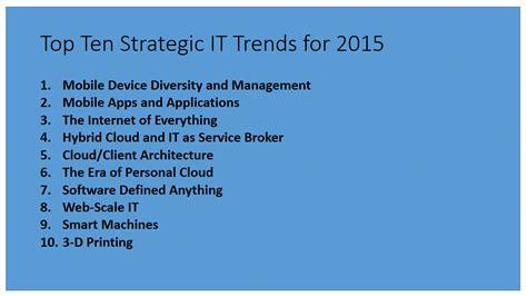 gartner s top 10 strategic does gartner think the green data centre is done silicon uk gartner top 10 strategic it trends for 2015