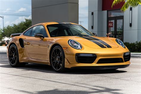 Used 2018 Porsche 911 Turbo S Exclusive Series For Sale ...