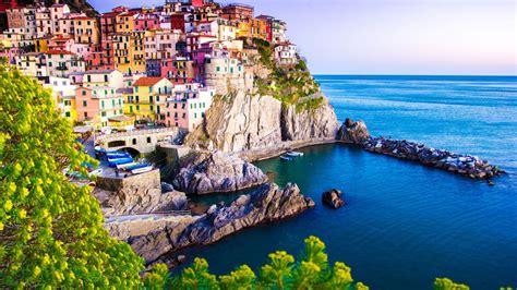 Landscape-Manarola-Italy-Desktop HD Wallpaper for Tablet ...