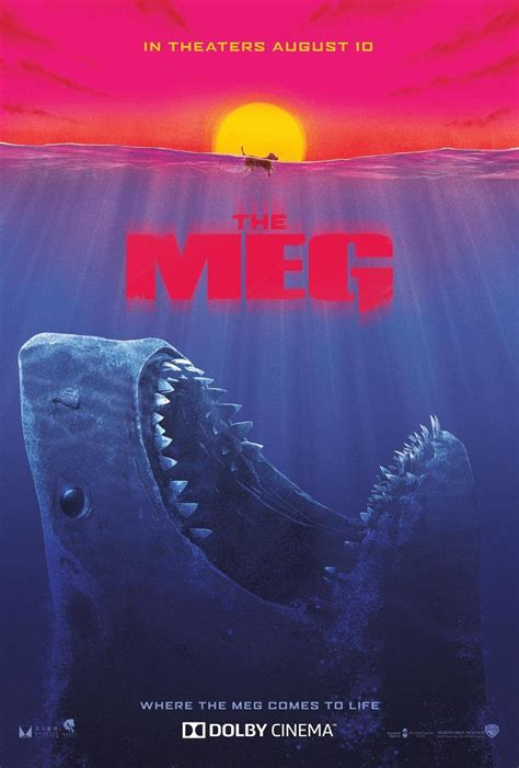 The Meg Puts Dog On The Menu In New Poster And Tv Spots