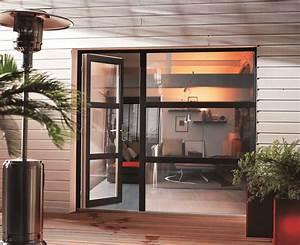porte fenetre pvc portes fenetres pvc sur mesure solabaie With porte de garage avec porte interieur petit carreaux