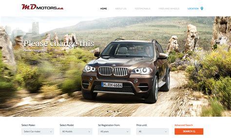 Custom Designed Car Dealership Website Calgary  New And