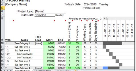 excel spreadsheets  gantt chart template pro giveaway