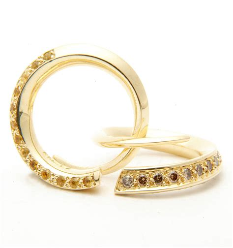 Gold Cognac Diamond Ring By Melina Clark. Manual Rings. Modern Wedding Engagement Rings. Maroon Engagement Rings. Man 2018 Wedding Rings. Brilliant Rings. Character Engagement Rings. Person Engagement Rings. Escudero Engagement Rings