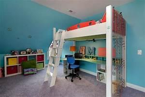 Lit Mezzanine Ado : lit mezzanine pour une chambre d ado originale design feria ~ Teatrodelosmanantiales.com Idées de Décoration