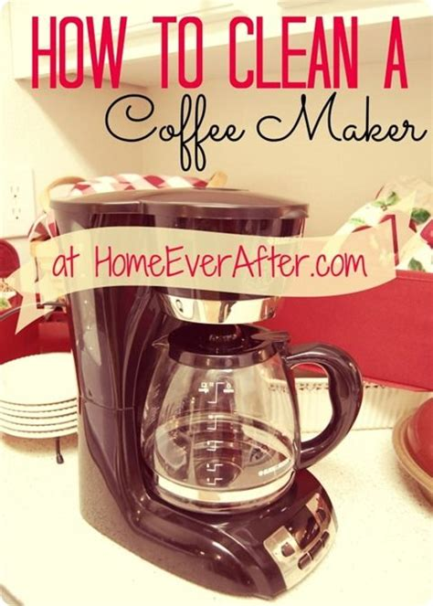In order to keep your coffee maker running smoothly, (and your mornings enjoyable) you need to keep it clean. How to Clean a Coffee Pot (Carafe) at Home Ever After ...