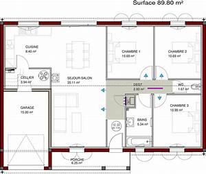 Plan Maison U : plans de maisons igc construction ~ Dallasstarsshop.com Idées de Décoration