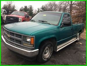 Used 94 Chevrolet Silverado C  K 1500 4 3l V6 Auto Rwd Pickup Work Truck Teal For Sale  Photos