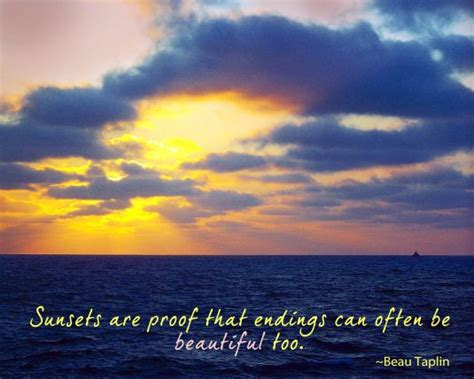 sunset quotes images  pinterest beach sunset