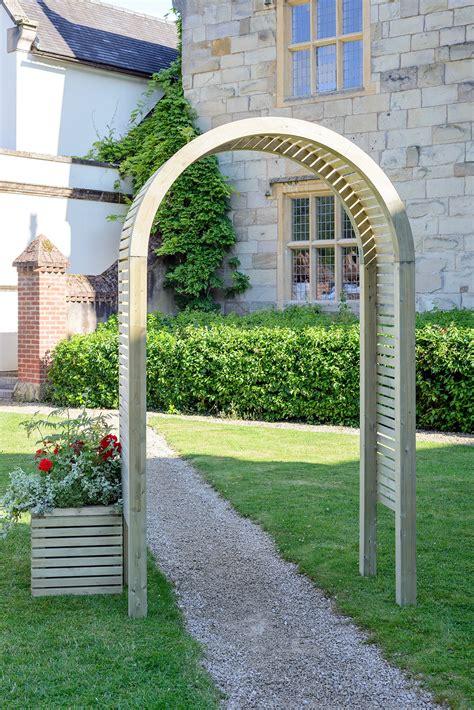 Grange Contemporary Garden Arch Kebur