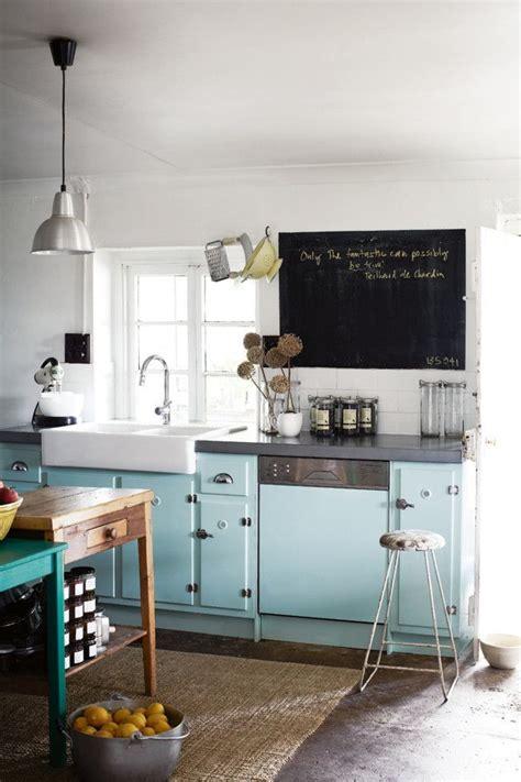 les cuisines se mettent au bleu visite deco