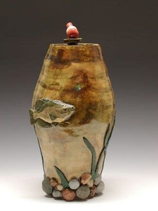 hand crafted cremation urn   fisherman  odyssey