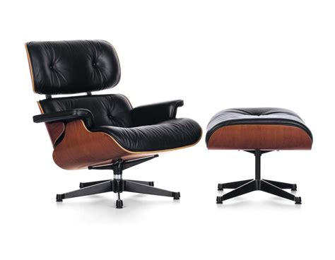mid century modern chairs vitra lounge chair ottoman by charles eames 1956